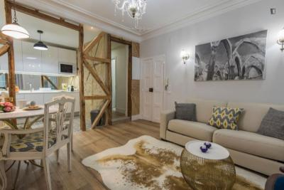 Stylish 1-bedroom apartment