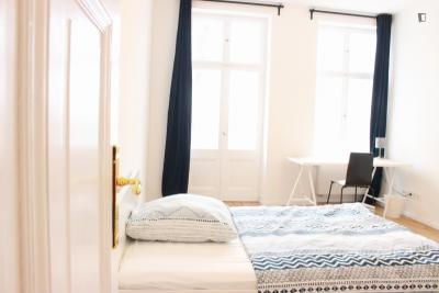 Spacious single bedroom with balcony in Pankow