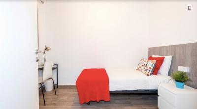 Homely single bedroom near Verdaguer metro station