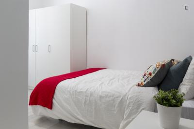 Pleasant double bedroom in Malasaña