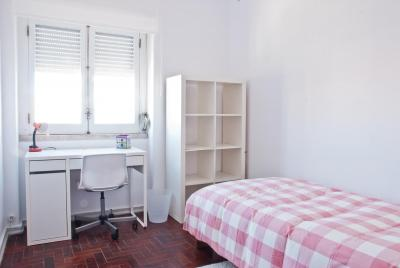 Comfy and bright single bedroom in São Sebastião