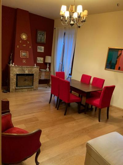 Cozy one-bedroom apartment in Trastevere