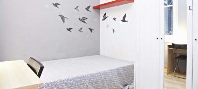 Charming double bedroom near Park Güell