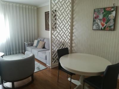 3-Bedroom apartment near Avenida metro station