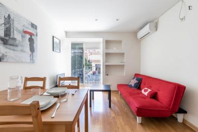 Beautiful 1-bedroom apartment close to European Sport Business School