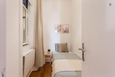 Einbettzimmer in Santos