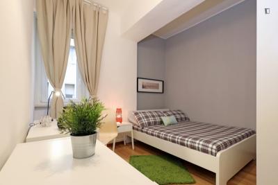Attractive double bedroom in Trastevere
