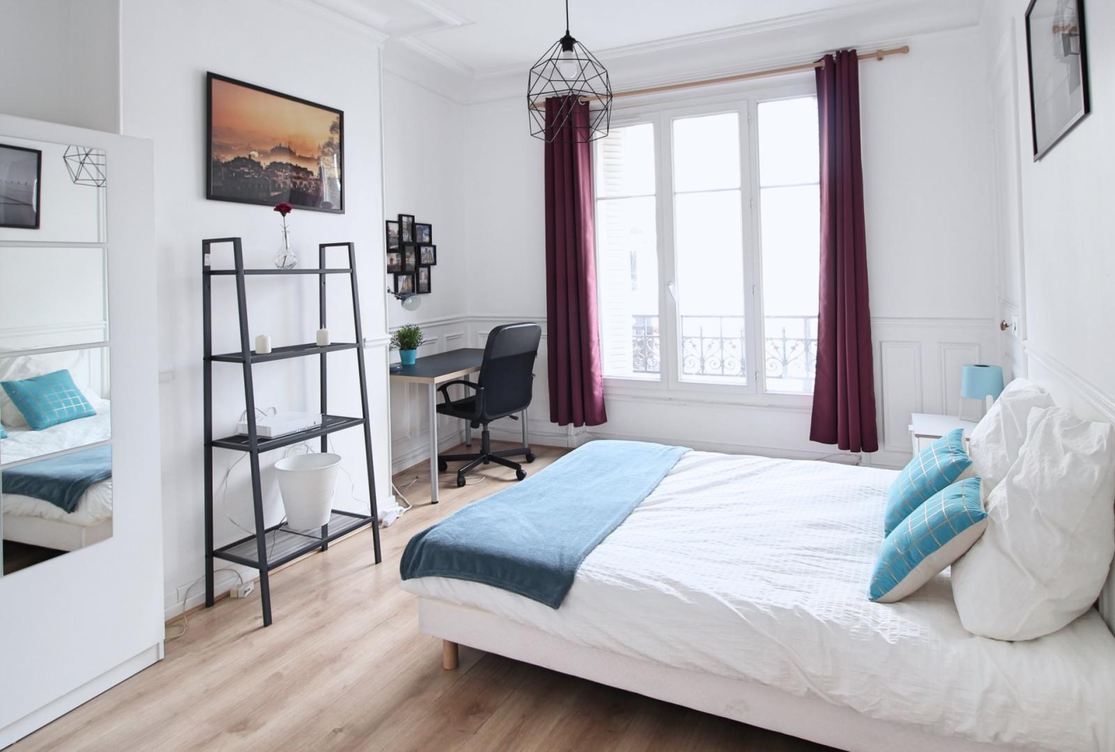 Cité de la Chapelle, 18th arrondissement of Paris, FR-75 - 900 EUR/ month