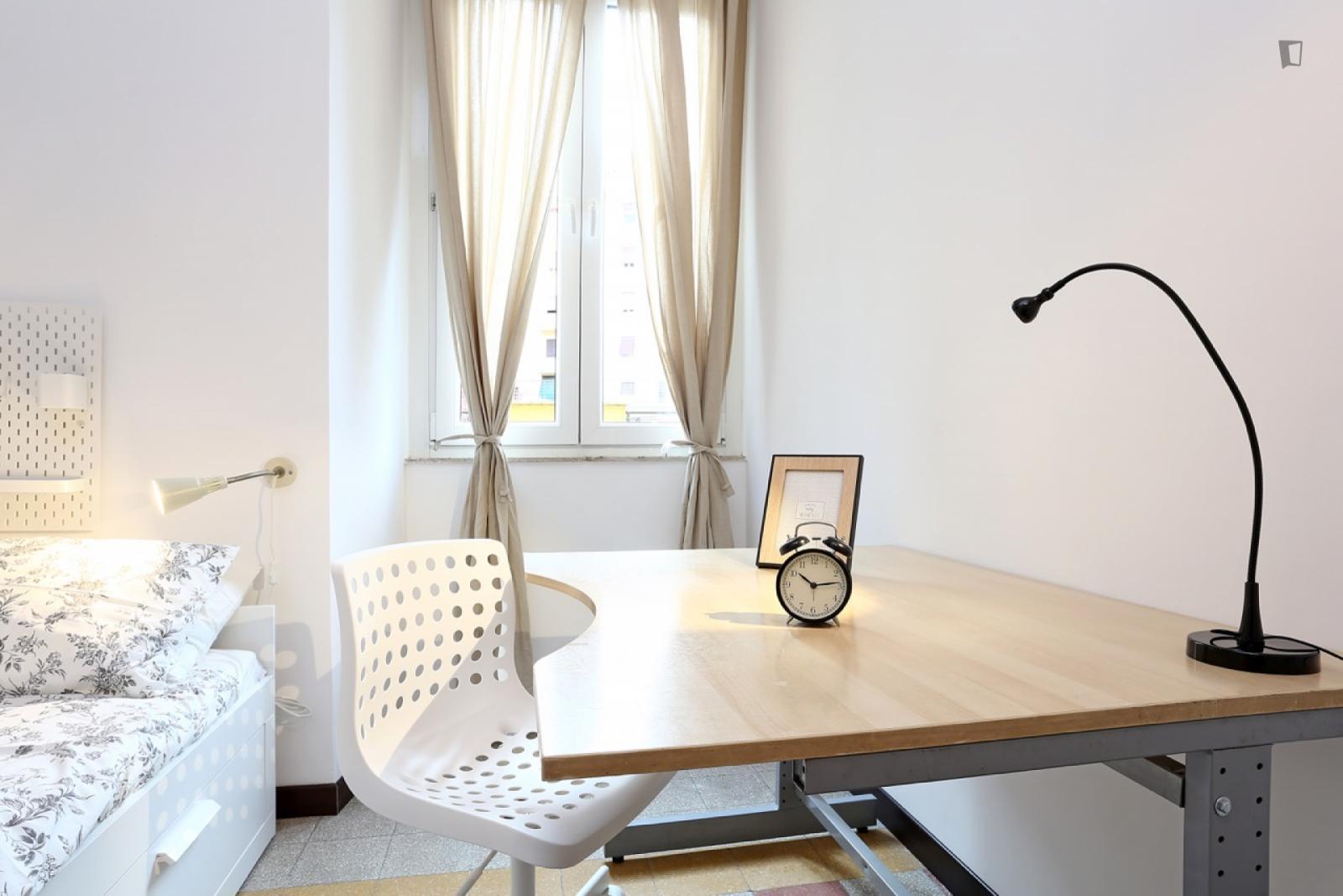 Viale Scalo San Lorenzo, Rome, ME - 583 USD/ month