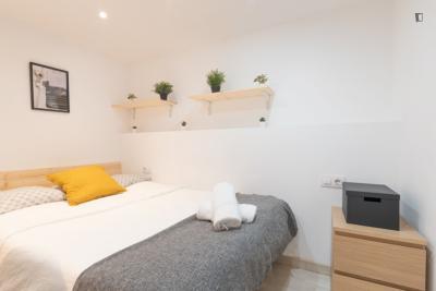 Cosy double bedroom near the Catedral de Barcelona