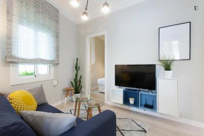 Cool 2-bedroom apartment with terrace in El Guinardó neighbourhood