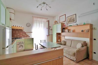 Marvellous 1-bedroom apartment in Crescenzago