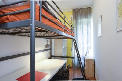 Pleasant single bedroom close to the Libia metro station