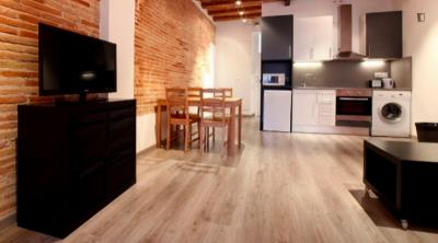Fashionable studio apartment in the exciting El Raval neighbourhood