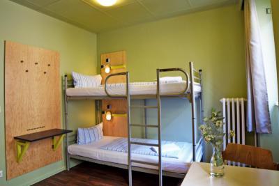 Basic single room in a hostel near U Turmstr. metro station