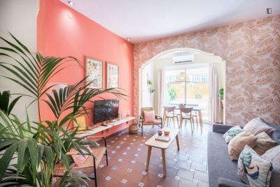 Bright and central 3-bedroom apartment in Sant Antoni