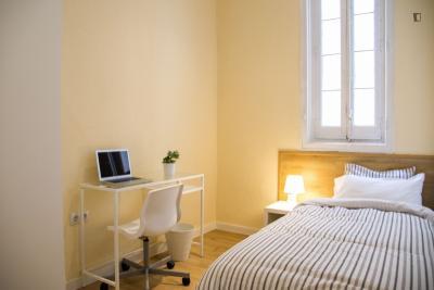 Single bedroom close to Palacio Real de Madrid