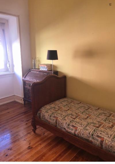 Nice single bedroom in Penha de França
