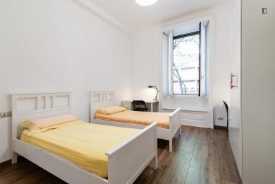Enkele in meerdere bedden slaapkamer in 9 slaapkamer appartement