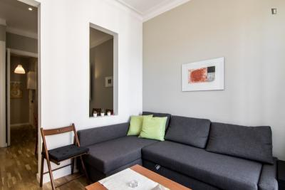 Cool 2-bedroom apartment near the iconic La Sagrada Família