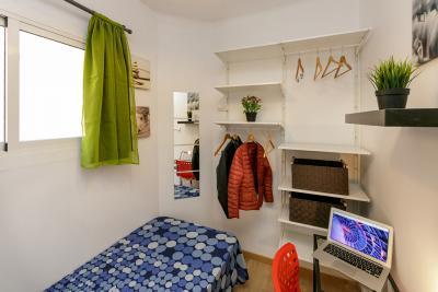 Admirable single bedroom near the Virrei Amat metro
