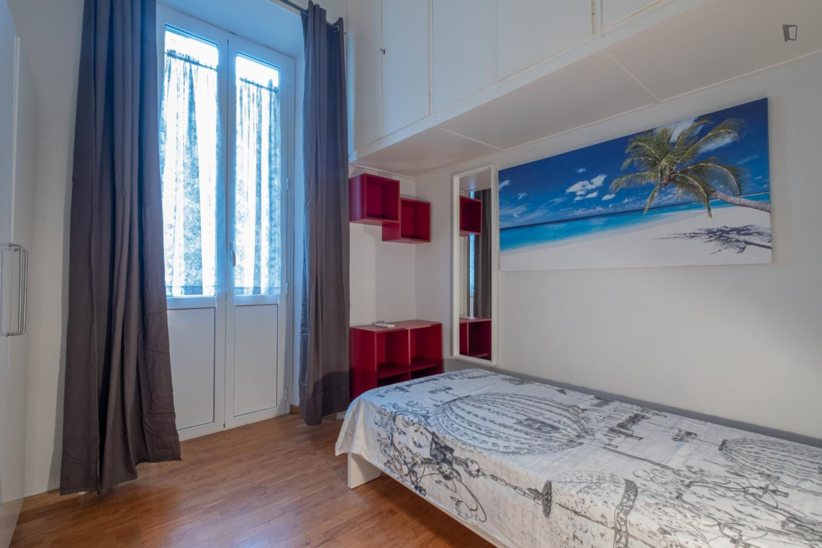 Viale Regina Margherita, Rome, ME - 525 USD/ month