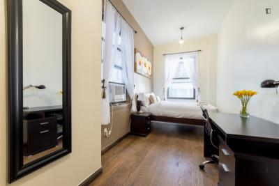 Homely double bedroom in a 2-bedroom apartment near Chrysler Building