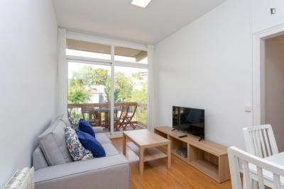 Attractive 3-bedroom apartment in Vallcarca i els Penitents
