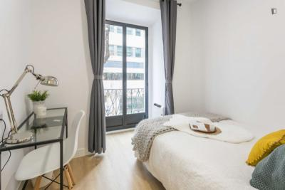 Brilliant double bedroom in Arguelles