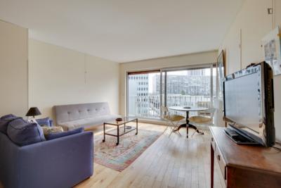 Alluring 1-bedroom apartment near Montparnasse Vaugirard transport station