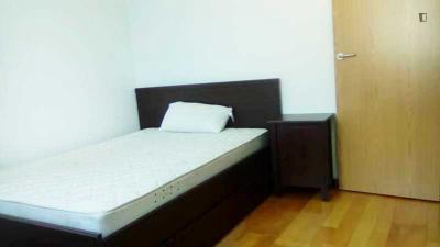 Chambre double dans un appartement de 6 chambres