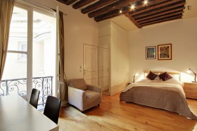 Rustic double bedroom apartment in Bourse