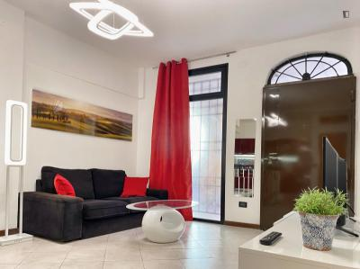 Duplex flat in the centre of Bologna