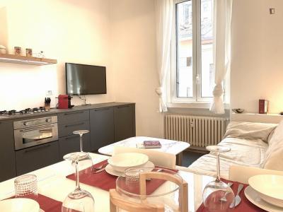 Nice 1-bedroom flat in Zona delle Regioni
