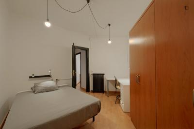 Enkele slaapkamer in residentie