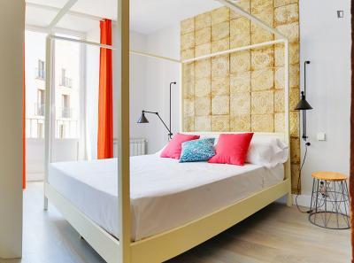Modern 1-bedroom flat in La Latina, close to Universidad Carlos III de Madrid