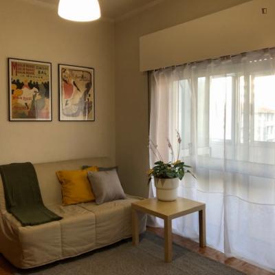 Very homely 1-bedroom apartment near Campo Alegre
