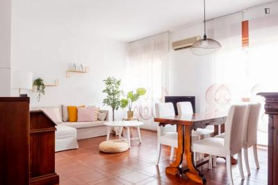 Bright 2-bedroom apartment in Cimiano