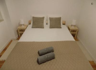 Cosy double bedroom in Martim Moniz