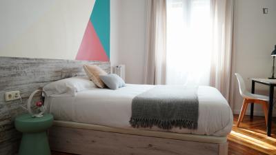 Pleasant double bedroom near plaza de Chamberí