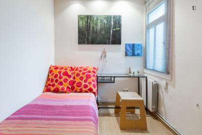Admirable single bedroom in well-linked El Fort Pienc
