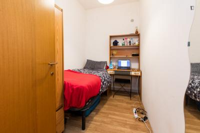 Single bedroom close to Città del Vaticano