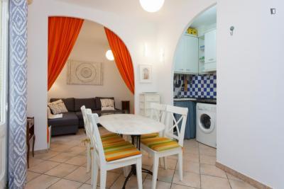 Cozy 1-bedroom apartment near Marina Port Vell