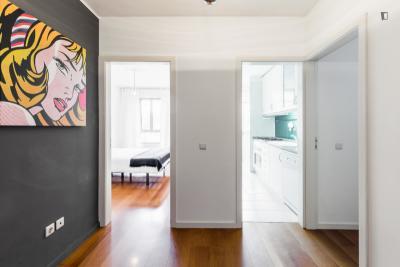 Compelling 1-bedroom apartment in Monto dos Burgos