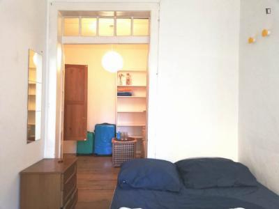 Suite Bedroom in Cais do Sodre/Santos