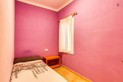 Pleasant single bedroom in Sant Andreu