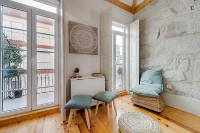1 bedroom apartment in the city centre, with balcony