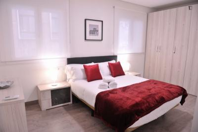 Super modern 1 bedroom apartment in Madrid, near Nuevos Ministerios tube station