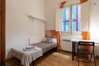 Elegant single bedroom in pleasant El Viso