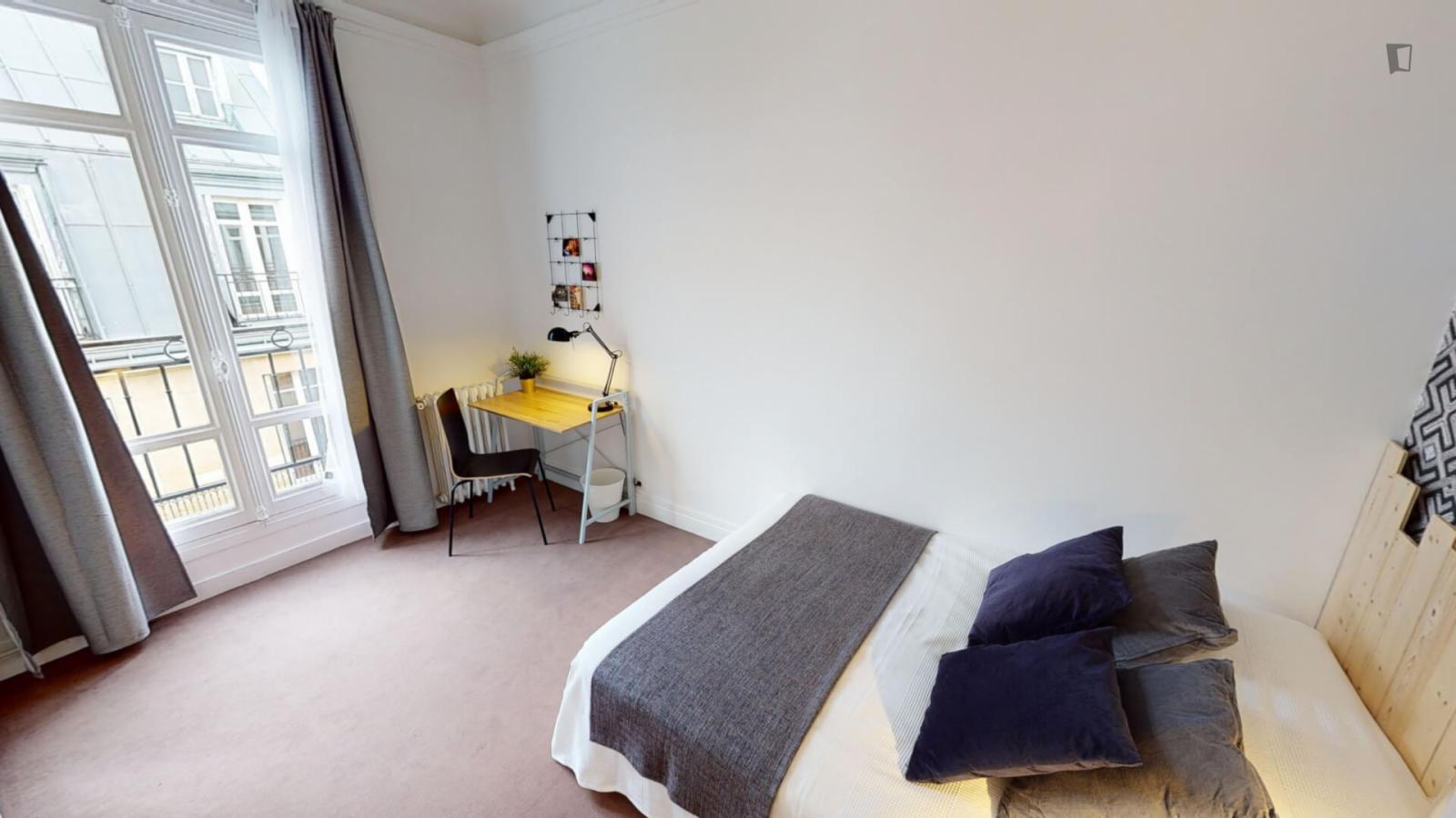 Boulevard Malesherbes, 17th arrondissement of Paris, FR-75 - 998 EUR/ month